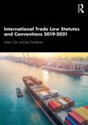 Cover of International Trade Law Statutes and Conventions 2019-21