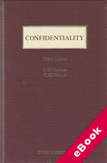 Cover of Confidentiality (eBook)