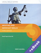 Cover of Mooting and Advocacy Skills (Book & eBook Pack)