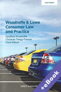 Cover of Woodroffe and Lowe's Consumer Law and Practice (Book & eBook Pack)