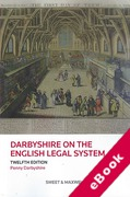 Cover of Darbyshire on the English Legal System (eBook)