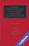 Cover of Electronic Communications, Audiovisual Services and the Internet: EU Competition Law and Regulation (Book & eBook Pack)