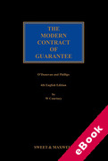 Cover of The Modern Contract of Guarantee (eBook)