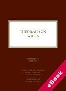 Cover of Theobald on Wills (eBook)