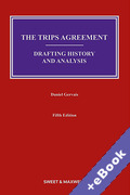 Cover of The TRIPS Agreement: Drafting History and Analysis (Book & eBook Pack)