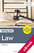 Cover of Getting into Law (eBook)